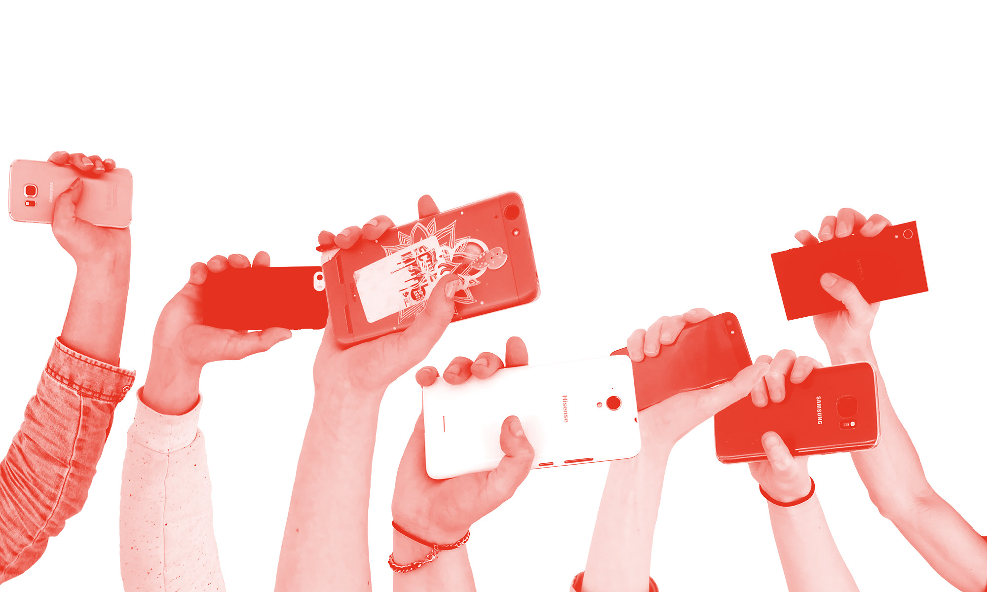 Caméras aux poings