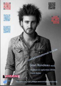 Affiche concert amia Rondeau 2